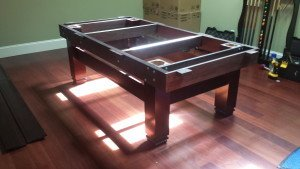Correctly performing pool table installations, New Bern North Carolina